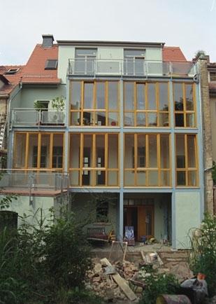 Architekturb ro in weimar ein mehrfamilienh user - Architekturburo weimar ...